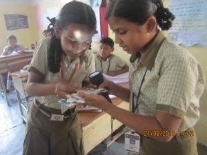 Foldscope at Vedavalli